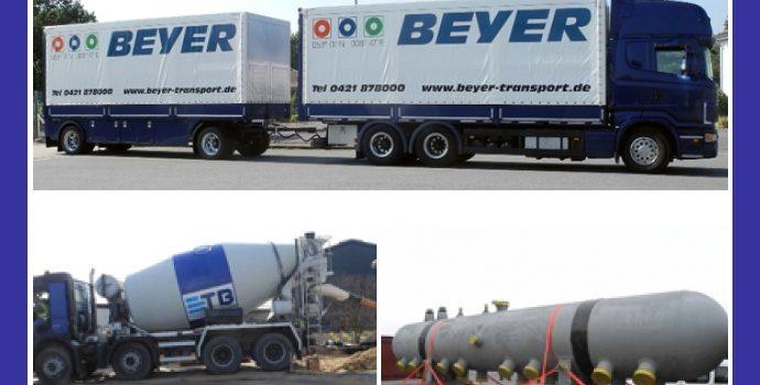 BEYER Transport & Logistik – Spedition in Stuhr, Bremen, Delmenhorst, Weyhe