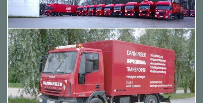 DANNINGER Spezialtransporte – Logistiker in Fürstenzell nahe Passau, Deggendorf, Straubing