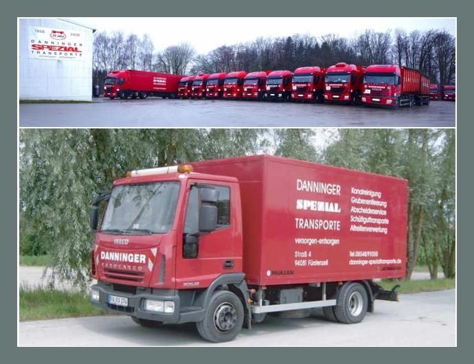 DANNINGER Spezialtransporte  Logistiker  Fürstenzell, Passau, Deggendorf, Straubing