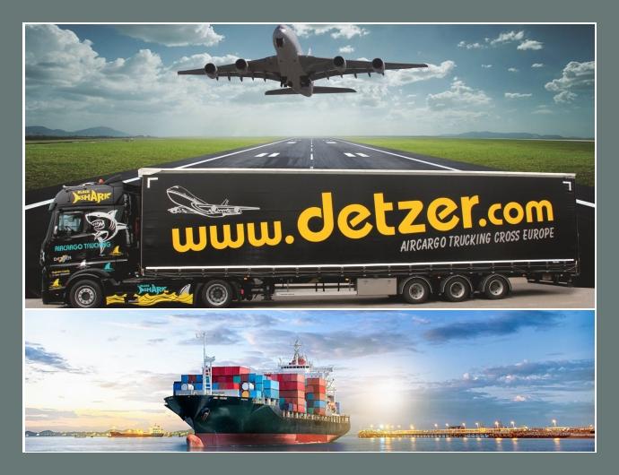 Detzer Aircargo Service GmbH  Transportservice  München, Landshut, Frankfurt am Main, Leipzig