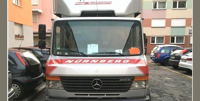 Georg Stelzer – Transport-Dienstleistungen in Nürnberg nahe Erlangen, Rothenburg ob der Tauber, Ansbach