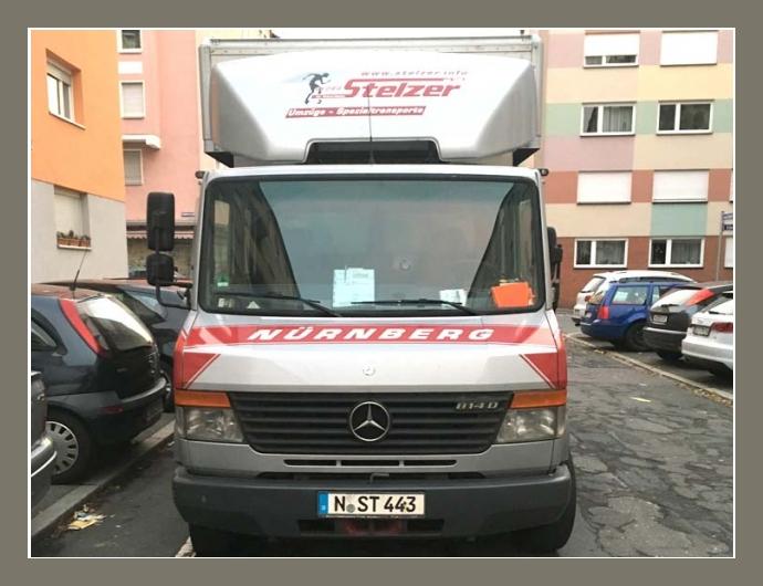 Georg Stelzer  Transport-Dienstleistungen  Nürnberg, Erlangen, Rothenburg ob der Tauber, Ansbach