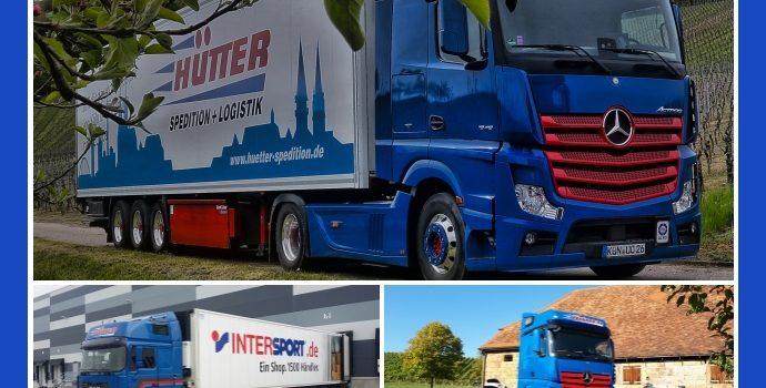 Hütter Spedition & Logistik – Transport-Anbieter aus Öhringen und Köln