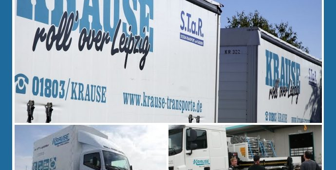 Krause-Transporte – Logistik-Anbieter aus Leipzig nahe Halle, Merseburg, Gera