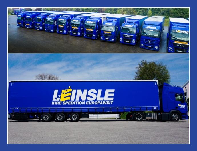 Leinsle GmbH  Logistikdienstleistungen  Buchloe, Kaufbeuren, Starnberg, München