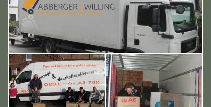 Willing Umzüge & Haushaltsauflösungen – Umzugsservice in Essen, Bochum, Oberhausen, Düsseldorf