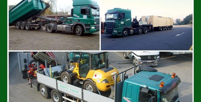 WINDGÄTTER Transporte – Spedition-Anbieter aus Dortmund nahe Lünen, Schwerte, Bochum